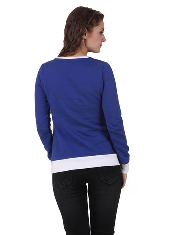 Texco Cotton Polyester Fleece Long Sleeve Winter Sweat Shirt