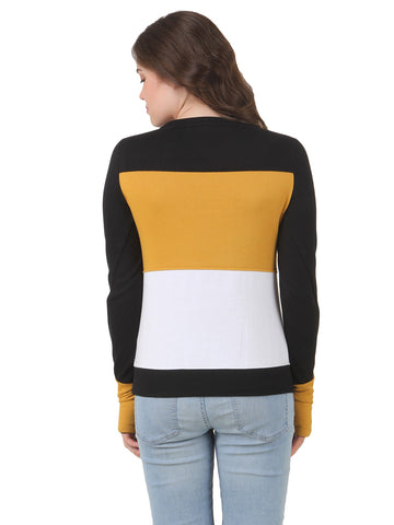 Texco Winter Color Block Sweat Shirt