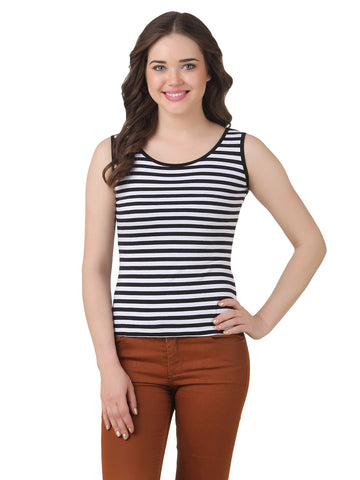 Texco Striped Tank Top