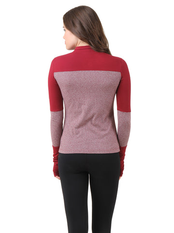 Texco Winter Mock-neck Pullover Top