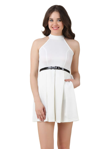 Texco Fit & Flare Skater Dress