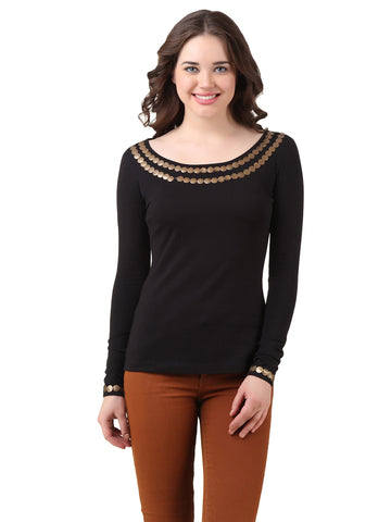 Texco Embellished Sequence Top