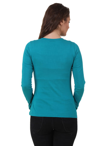 Texco Cotton Jersey Round Neck Top