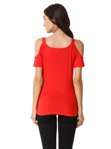 Texco Smart Casual Cold Shoulder Tops
