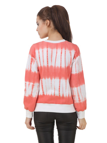 Texco Full Sleeve hot tie - Dye Women's Sweatshirt