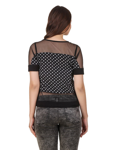 Texco Party Polka Dot Top