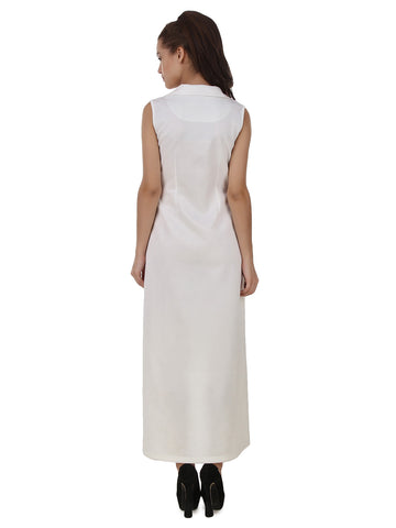 Texco High Low Double Breasted Dress