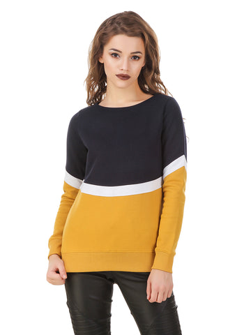 Texco Color Block Sweatshirt