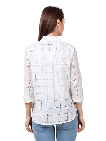 Texco woman's white shirt