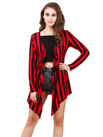 Texco Striped Viscose Shrug