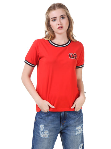 Texco Round Neck Smart Casual T-Shirt