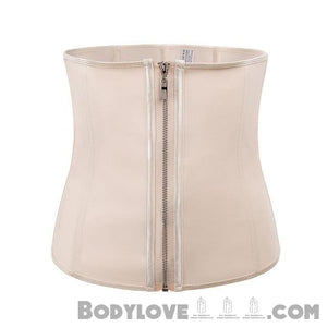 Hook Zipper Rubber Latex Waist Trainer Corsets