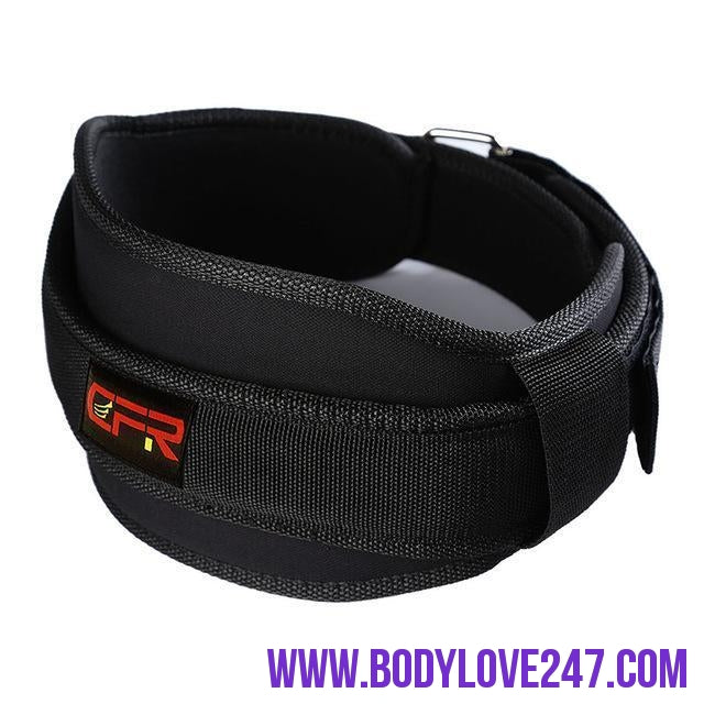 New Sports Waist Support Weightlifting Belt Fitness Gym Back Brace