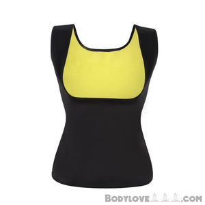 Women Neoprene Shapewear Waist Trainer Push Up Vest