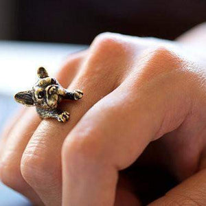 Trenderella - Dog Lovers French Bulldog Ring - Enjoy gorgeous stuff!