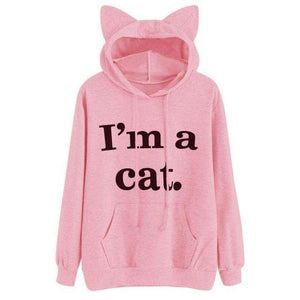 Trenderella - I'M A CAT PULLOVER SWEATSHIRT - Enjoy gorgeous stuff!