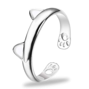 Trenderella - Paws and Ears Cat Ring - Enjoy gorgeous stuff!