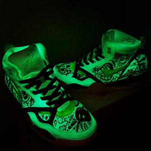 CUSTOM GLOW IN THE DARK PAINT - LIMITED SUPPLY!