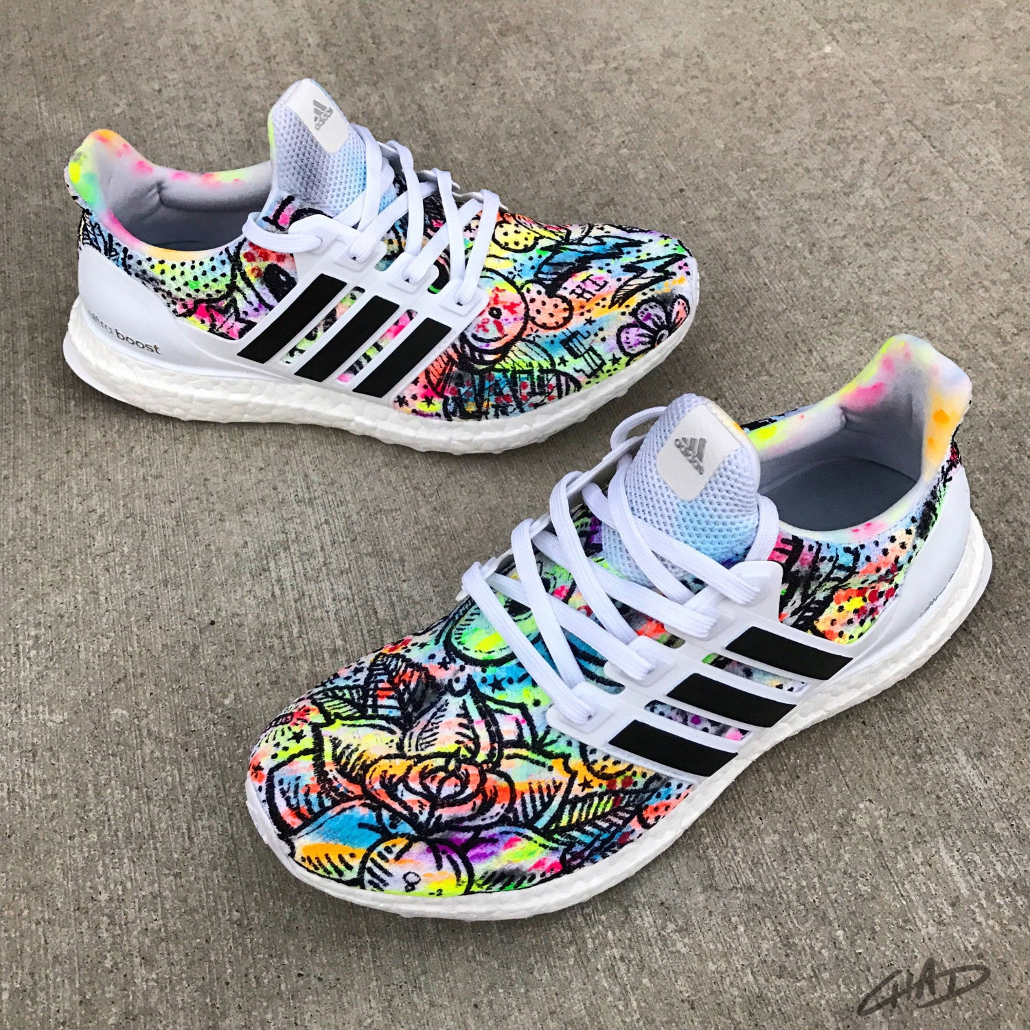 finest selection 08494 c2bfb Custom Adidas Ultra Boost