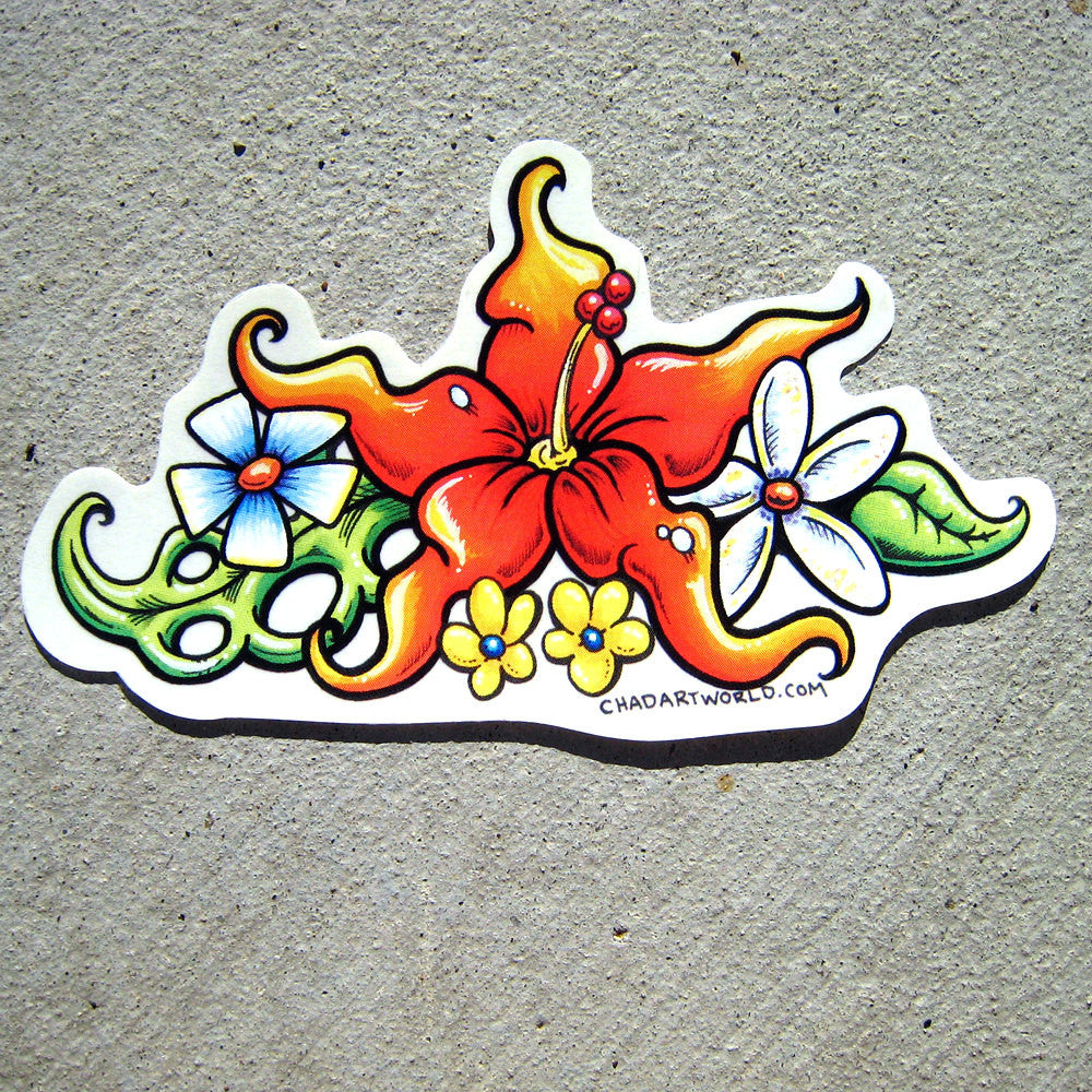 Aloha - Custom Art Sticker