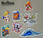 Custom Art Stickers - Boys Sticker Pack