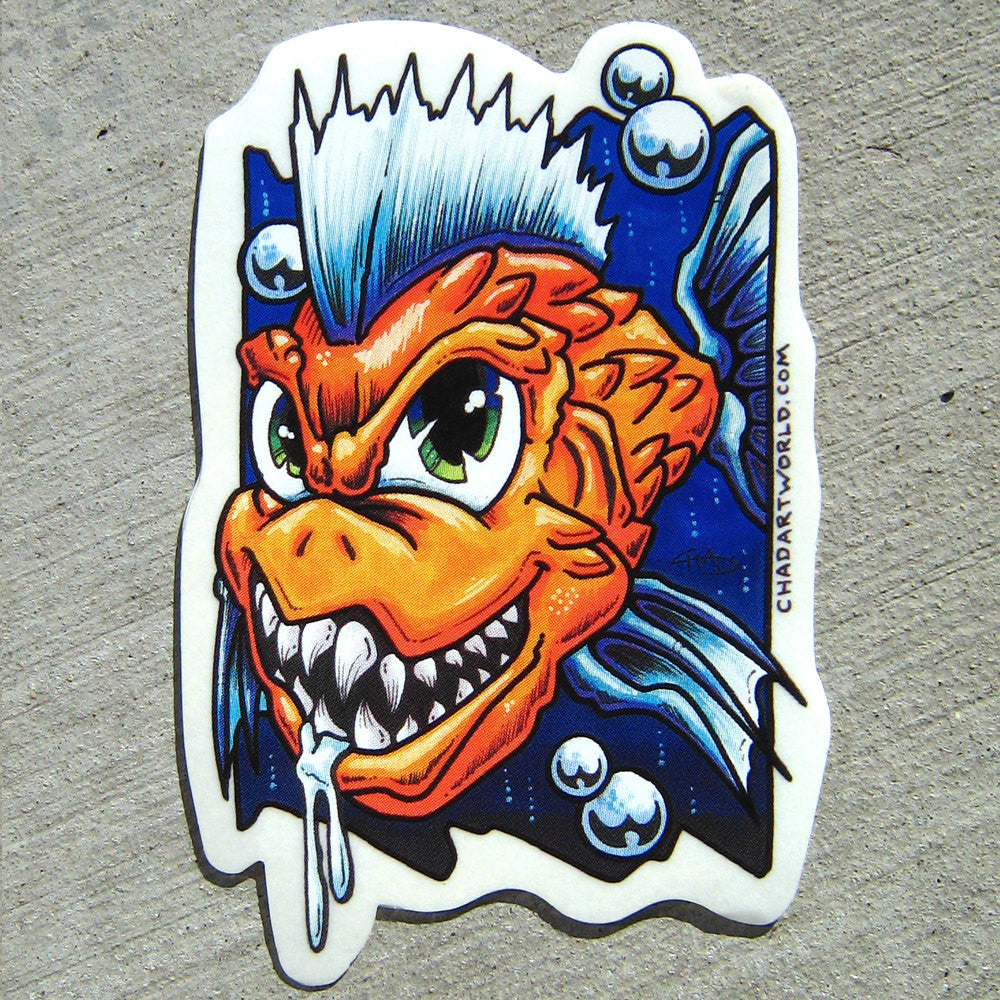 Chomper -  Custom Art Sticker