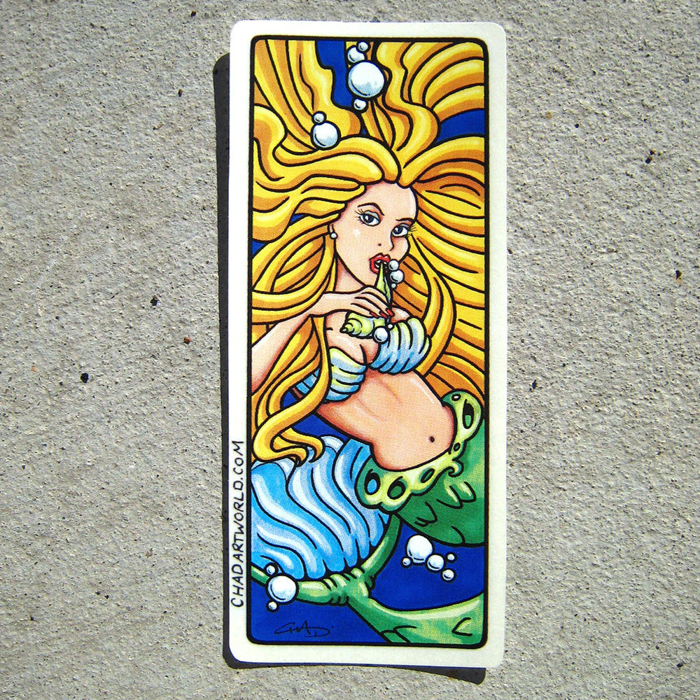 Mermaid - Custom Art Sticker