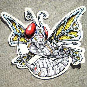 Wasp - Custom Art Sticker