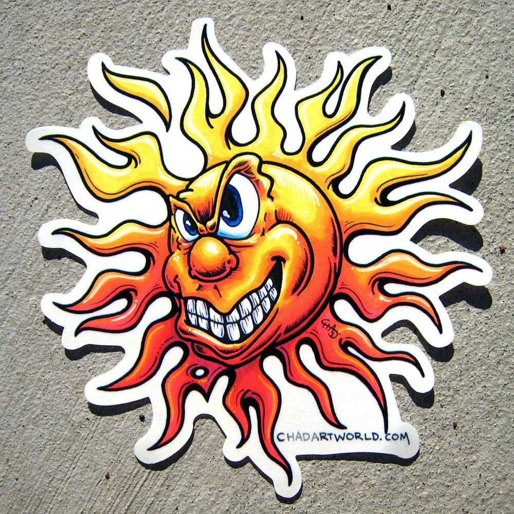 Sunny - Custom Art Sticker