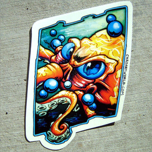 Inked - Custom Art Sticker