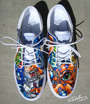 Octopus Galaxy Hand Painted  NIKE SB Janoski Shoes