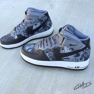 Dimes -  Custom hand painted Nike Air Force 1 shoes
