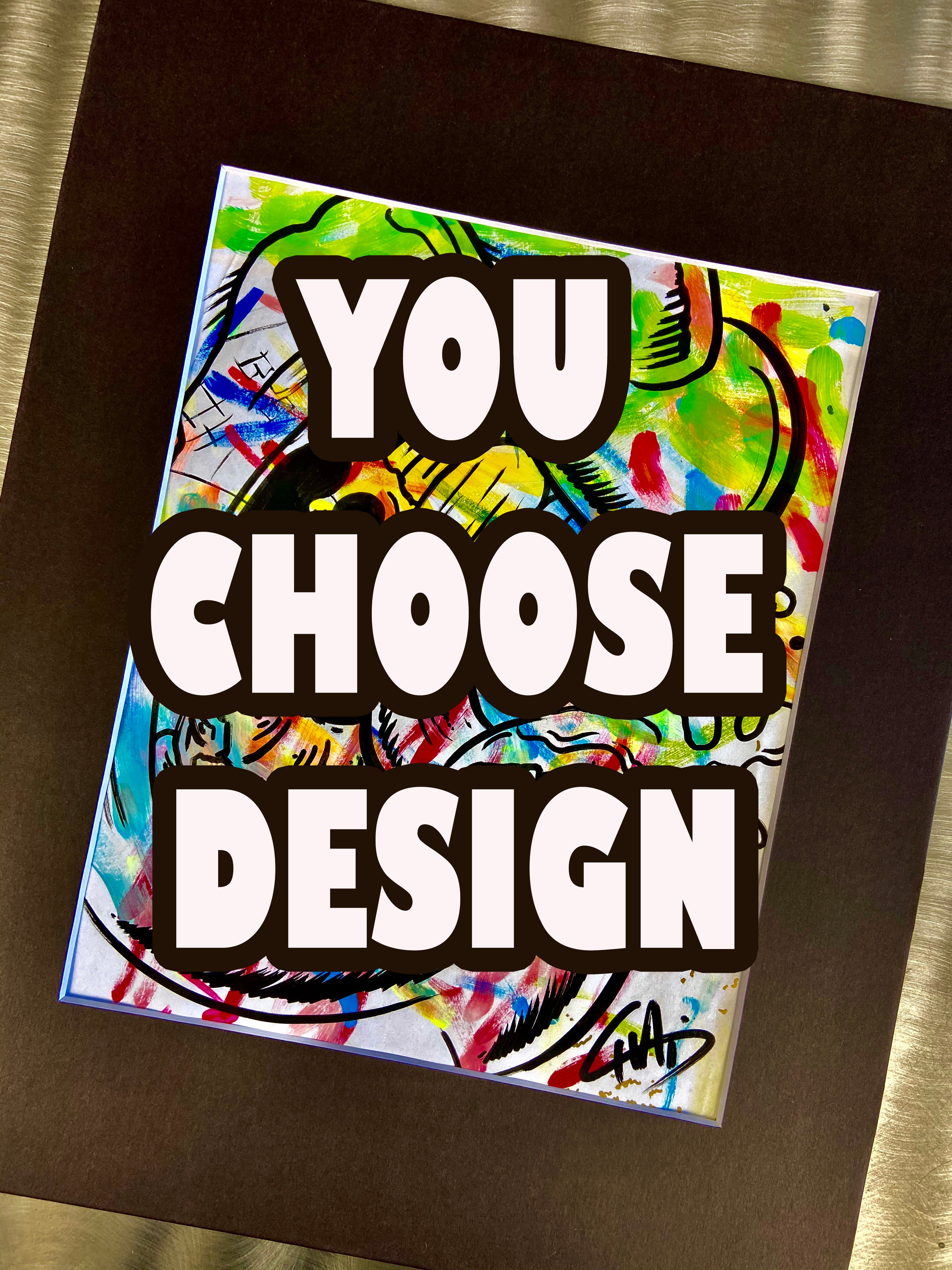 YOU CHOOSE DESIGN! The Doodles Collection