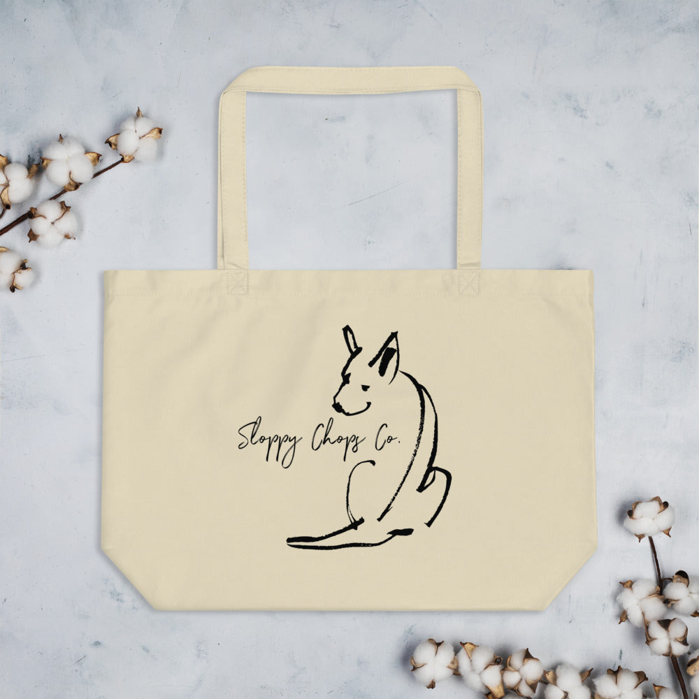 Sloppy Chops Co. Organic Cotton Tote Bag