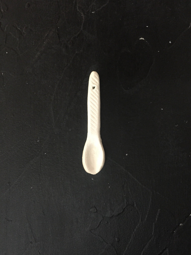 Spoons in Blanc
