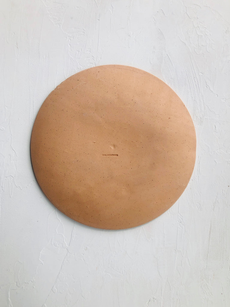 10.5 inch Orb Plate in Peach