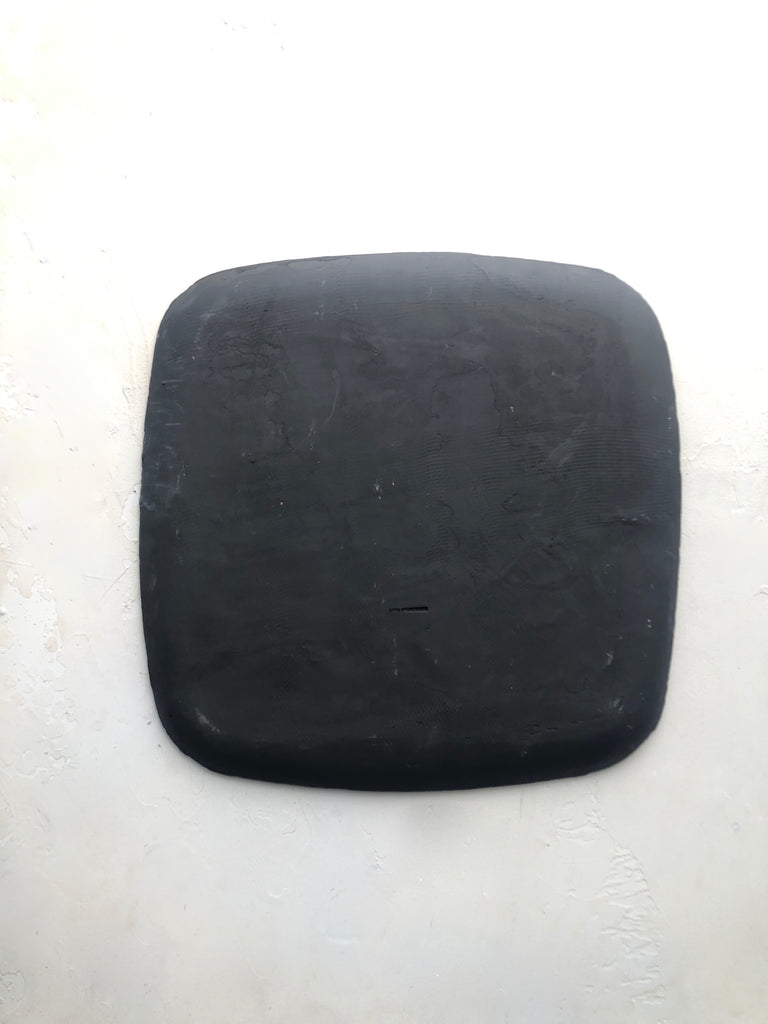 Square Platter in Black