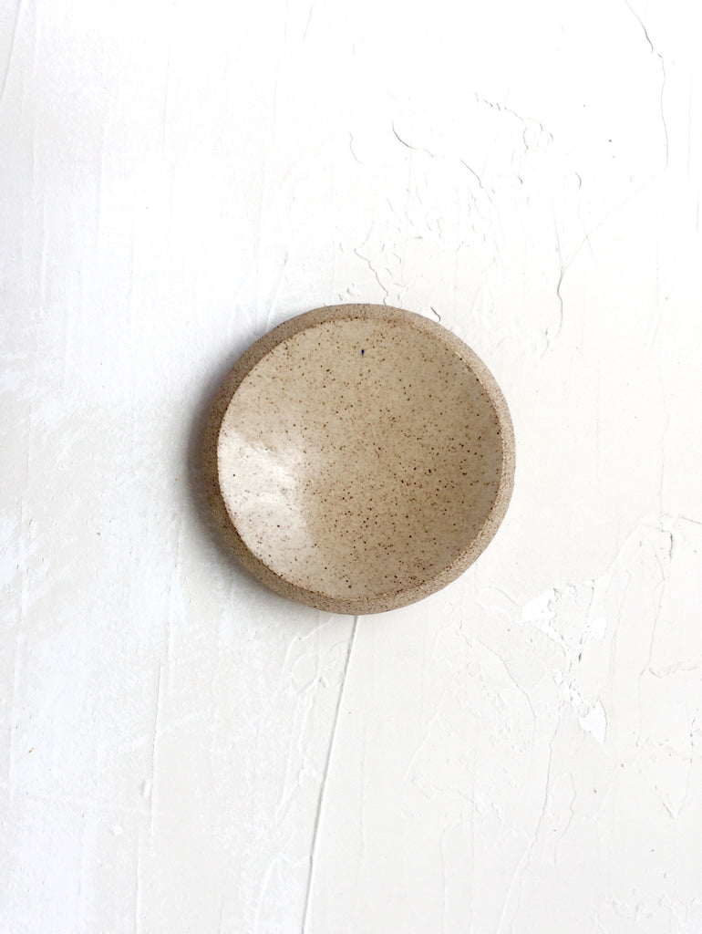3.5 inch Orb Dish in Sand