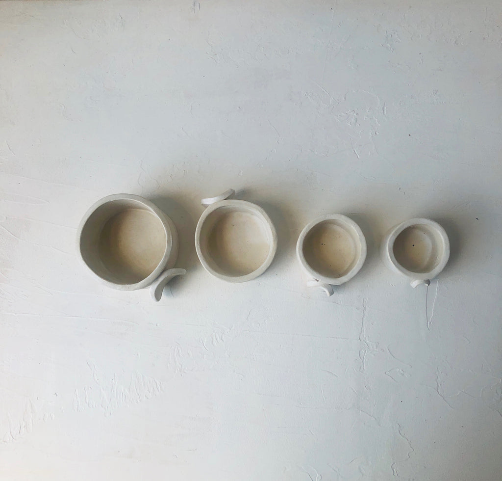 Cup Measure Set in Blanc