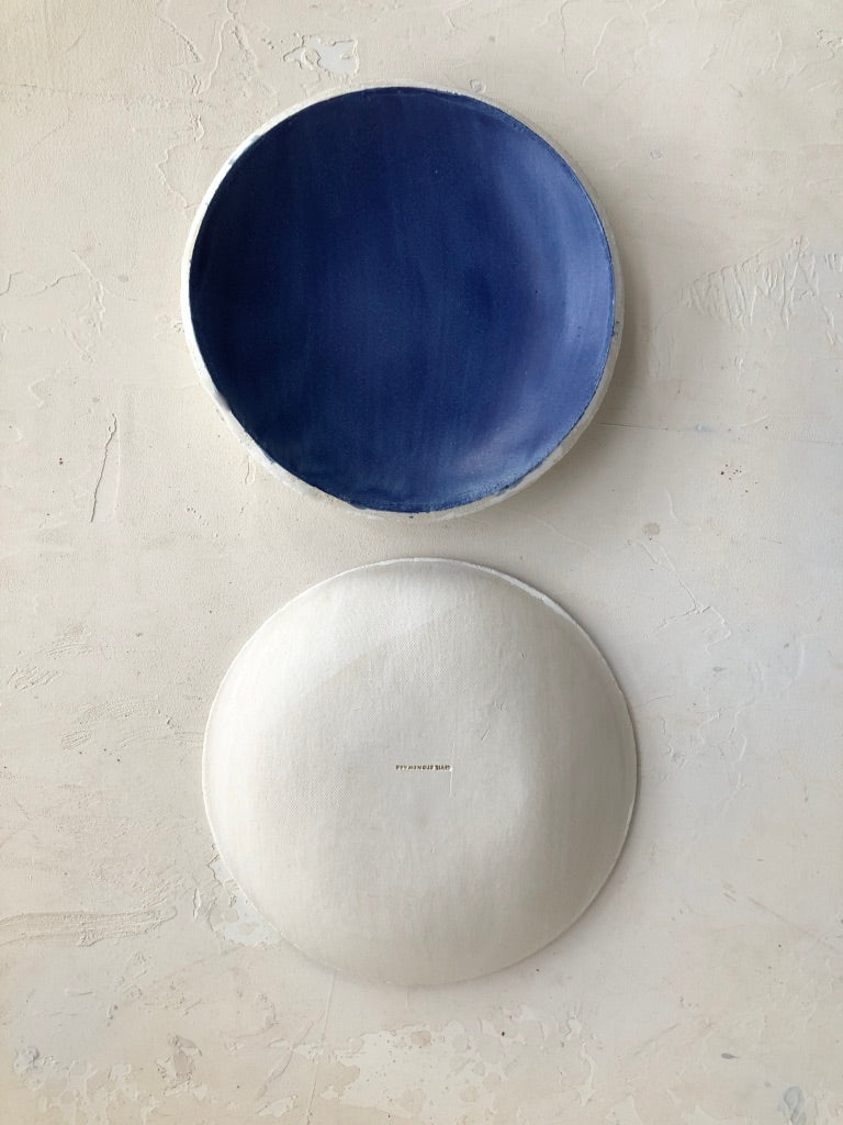 7 inch Orb Bowl in Cobalt Blue