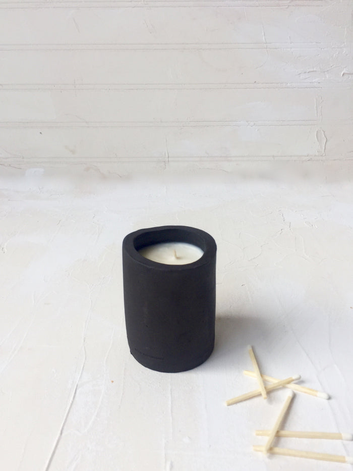 Small Black Pine Candle