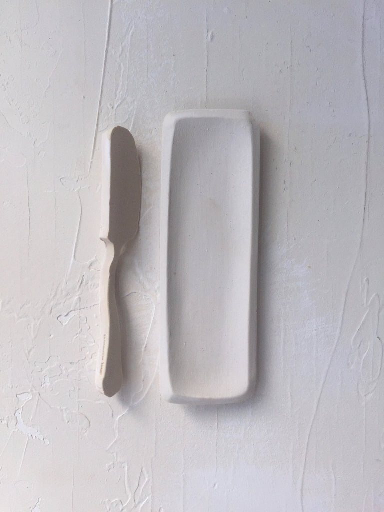 Butter Knife / Spreader in Blanc