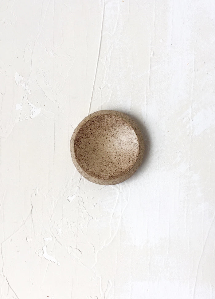2 inch Orb Dish in Sand