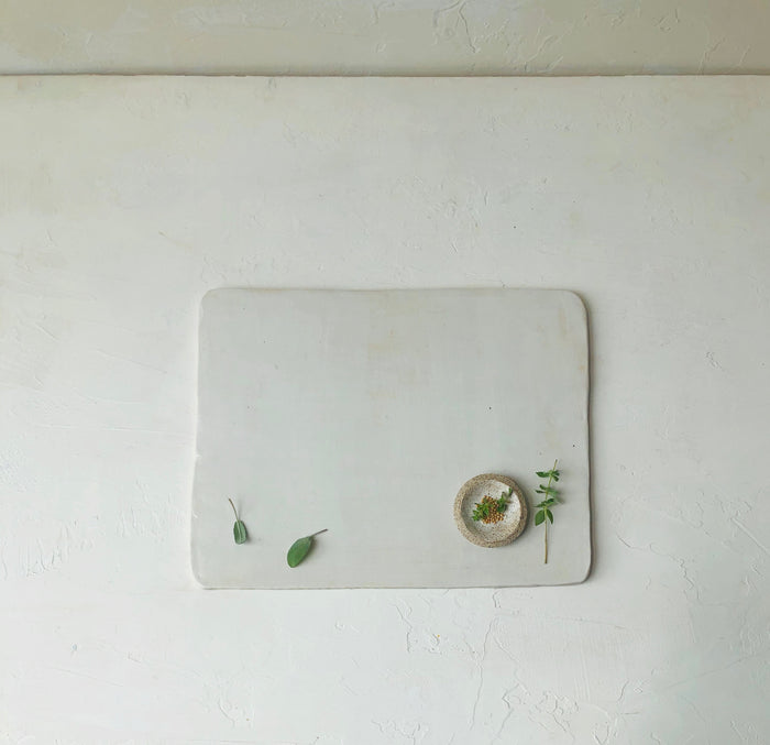 Ceramic Board in Blanc