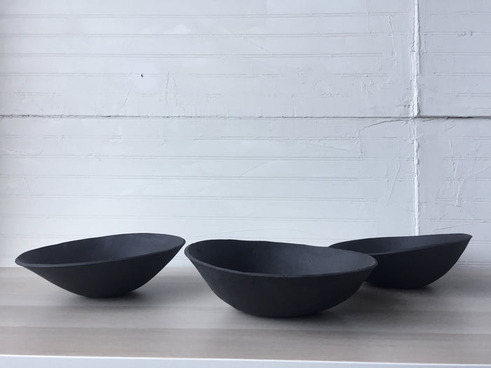11 inch Orb Serving Bowl in Black