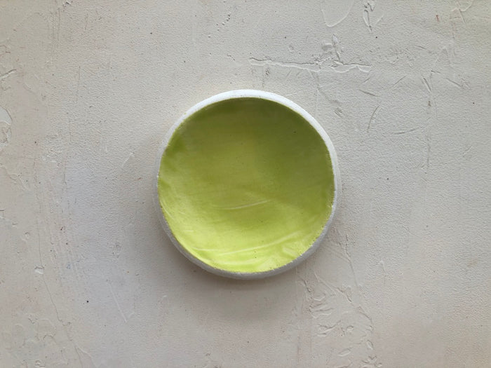 3.5 inch Orb Dish in Citron