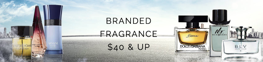 Branded Fragrances $40 & Up