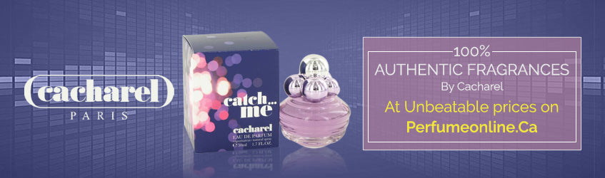 Cacharel Perfumes banner