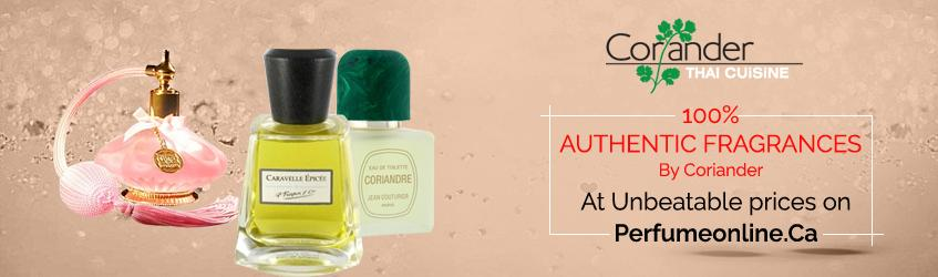Coriander Perfumes for Men and Women