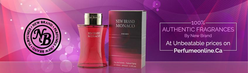 New Brand Perfumes and Colognes